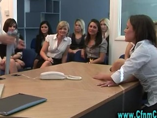 Office Full Of Babes Watch Guy