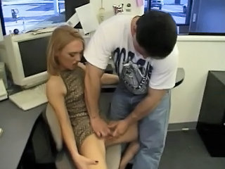 Babe Cute Office Secretary