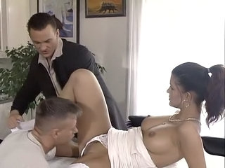 Babe European German Threesome