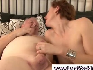 Daddy Handjob Mature Older