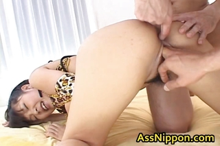 Asian Babe Sucks And Gets Double Fucking Part4