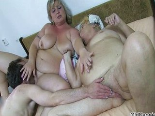 Nasty Old Whore Gets Her Pussy Licked