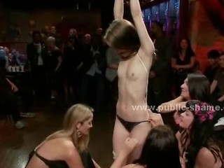 Bondage Party Slave Teen