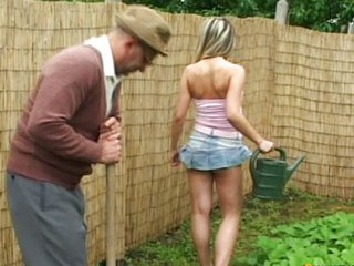 Daddy Latina Old and Young Outdoor Teen