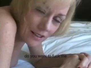 British Mature Blonde Milf