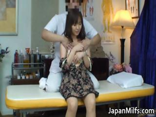 Extremely Horny Japanese Milfs Sucking P...