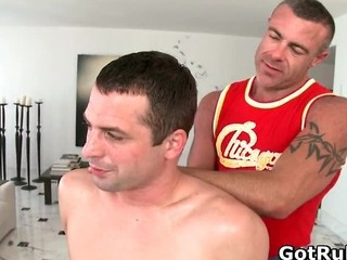 Massage Pro Gets His Tattooed Anus Part1