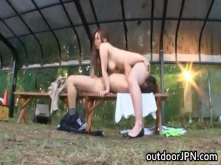 Asian Facesitting Japanese Licking  Outdoor