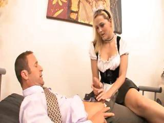 Hot Ass French Mademoiselle Fucks Their way Boss