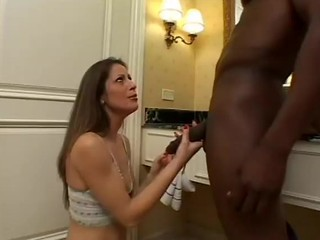 Big cock Blowjob Handjob Interracial