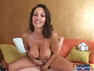 Big Tits  Mom Natural Pornstar Riding