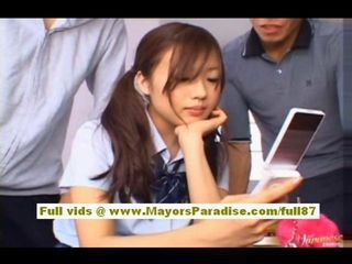 Asian Chinese Cute Pigtail Student Teen Uniform