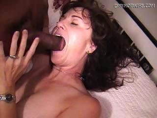 Amateur  Blowjob Interracial Wife