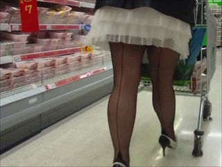 Seamed stockings 10