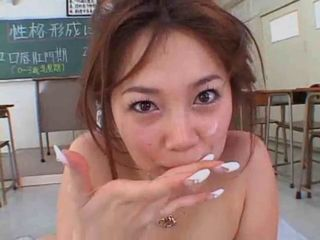 Asian Japanese  School Swallow Teacher