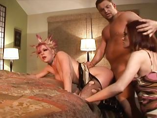 Wife Catches Her Husband Fucking His Punk Mistress In Along to Ass