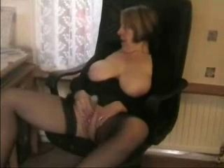 Amateur Chubby Homemade Masturbating Mature  Stockings Toy