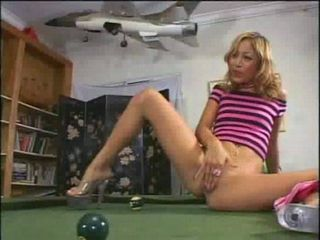 Squirting Kat is better than billard with her
