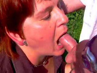 Amateur Blowjob Mature Outdoor