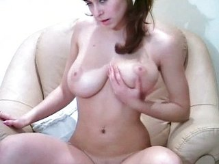 Amazing Big Tits Natural Solo Teen