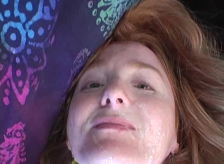 Redhead Gets Punished For Trespassing