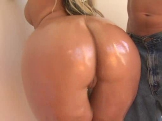 Amazing Ass  Oiled Pornstar
