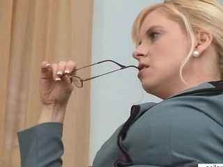 Bigtit Milf Sneaks Office Orgasm