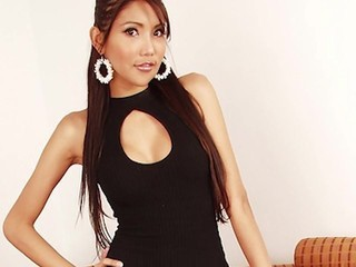 Rock Hard Sexy Asian Ladyboy: Smoking Hott Slideshow & Video Clips
