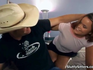 Babysitter Has The Hard Doggystyle Make Love