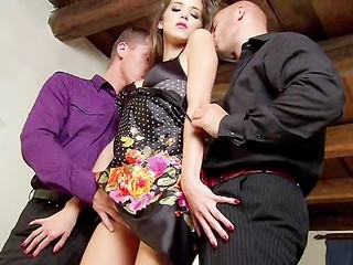 Amazing Cute Teen Threesome