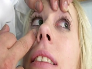 Blonde Childlike Kristyna Gyno Exam At Kinky Gynoclinic