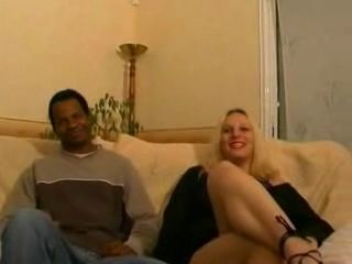 Casting 2 French Blondes 1 black man