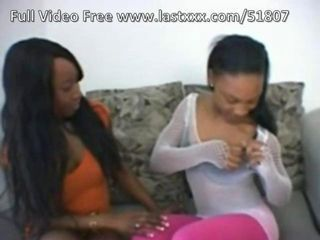 Stacey Cash and Oasis Star horny ebony lesbians.