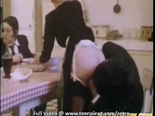 Ass Clothed Kitchen Maid Vintage