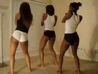 Amateur Ass Dancing Ebony Teen