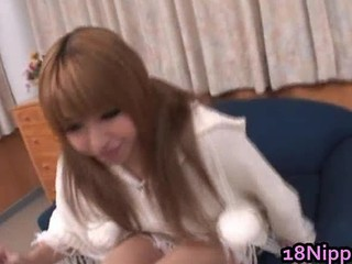 Horny Asian Teen Girl Stuffing Her Pussy Part1