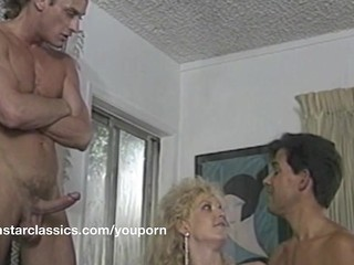 Double Penetration  Pornstar Threesome Vintage