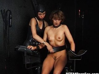 Bdsm Play Everywhere Two Chicks As One Gets