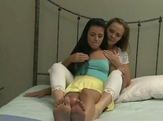 Hot mature and teen in lesbian heaven