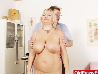 Big Tits Doctor Mature Natural Older