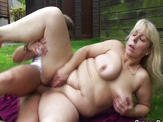 Spies And Fingering Elderly Woman