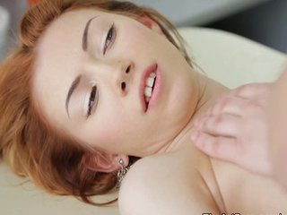 Cute Massage Redhead Teen