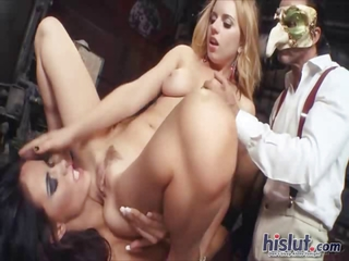 Facesitting  Teen Threesome