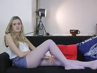 Amateur Legs Pantyhose Teen