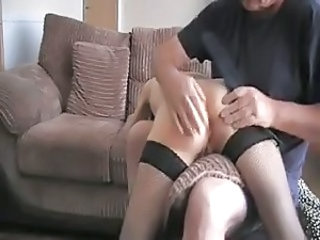 Skinny Spanking Stockings