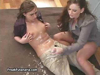 Horny teacher unsustained her female part1