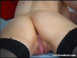 super blonde playing with her soul and pussy(4).flv