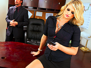 Amazing  Office Pornstar Secretary