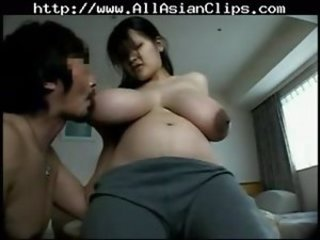 Big Boobs Prego Babe  2 asian cumshots asian swallow japanese chinese