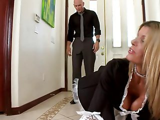 Big Tits Maid  Pornstar Uniform